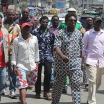 Lagos LG Boss Leads Protest Against Police Harassment