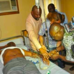 Police Shoot Sen. Abe at Political Rally,  Amaechi was the Target, Says Rivers State Govt