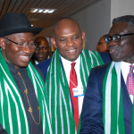 Photo News: Jonathan At Davos, Tasks African Leaders On Economic Improvement