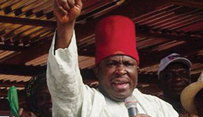 Embattled National Chairman of APGA, Victor Umeh