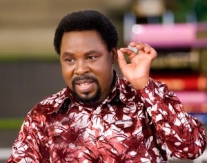 Prophet T.B. Joshua of The Synagogue Church Of All Nations (SCOAN)