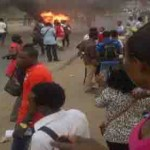 LASU Students On Rampage, Attack VC, Destroy School Properties