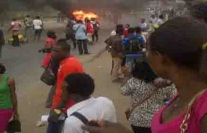 LASU students went on rampage