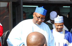 new National chairman of People Democratic Party (PDP) Adamu Mu'azu