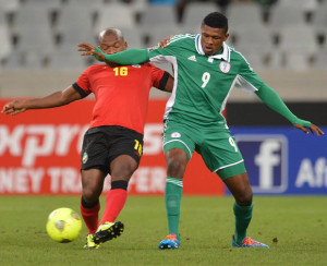 Nigeria Vs Mozambique at CHAN 2014