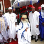 President Goodluck Jonathan with Emir of Kano