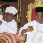 President Goodluck Jonathan with Oba of Lagos