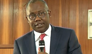 Nigeria's Attorney General and Minister of Justice Mohammed Bello Adoke