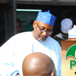 $200 Million Campaign Bribe Tears PDP National Chairman Mua'azu, Deputy Apart