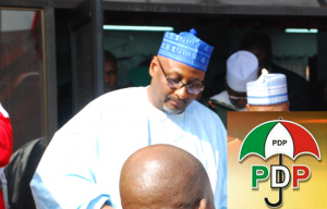 The new National chairman of People Democratic Party Adamu Muazu