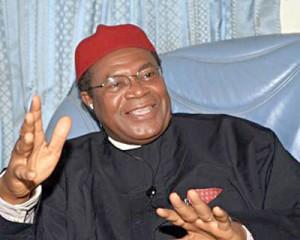 Ex-Enugu Governor Okwesilieze Nwodo