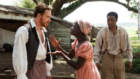 "Scene at the film titled ""12 years a slave"""