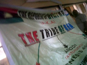 One of the Biafran Flags recovered from the hoodlums by the police