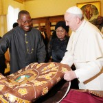 Photo News: President Jonathan Meets with Pope Francis At Vatican On Saturday (22/3/14)
