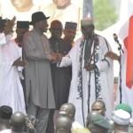 Jonathan rally in Kano