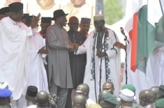 Jonathan rally in Kano