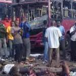 The scene of the Abuja bomb blast