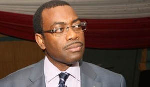 The minister of Agriculture, Dr Akinwumi Adesina