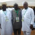 Senator Iyiola Omisore, Hon. Wole Oke and Senator Akinlabi Olasunkanmi