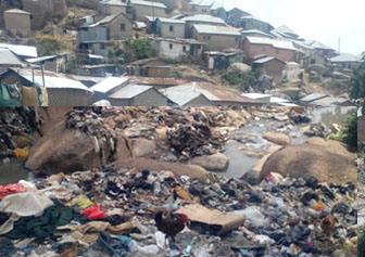 Image from Mpape Settlement in Abuja, Photo by Olorooke