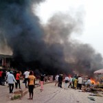 BREAKING NEWS: Adamawa market hit by Bomb explosion