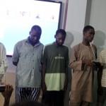 Nigerian Security Parades 5 Masterminds of Nyanya's Bomb Blast