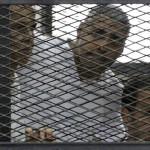Egypt trial: Journalists Stage Protest And One Minute Silence in London