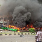 Breaking News:  Bomb Blast Hits Shopping Plaza In Wuse II Abuja