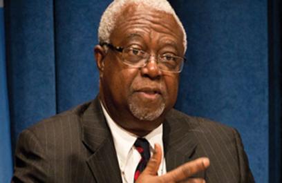 former Liberian President, Professor Amos Sawyer