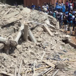 Three Severely Injured As Building Collapses In Dolphin Estate Lagos