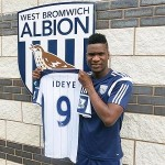 West Brom Shattered Club Record to Sign Brown Ideye