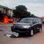 Breaking News: Buhari Escapes Bomb Attack In Kaduna