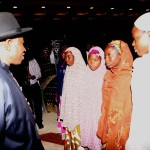 Jonathan Finally Meets With the Abducted Chibok Girls' Parents