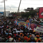 Osun 2014: Massive Crowd Receives Omisore In Ile-Ife
