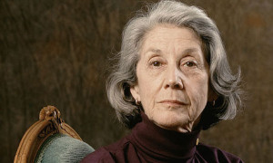 South African Nobel Prize-winning author, Nadine Gordimer