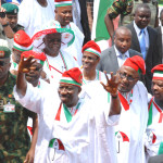 RALLY, GOODLUCL, IDEDIOHA, MUAZU, OMISORE AND OTHERS