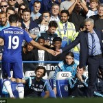 "Mourinho Describes Costa as ""Abnormal"" after Spanish Man Scored 7 Goals in 4 Games"