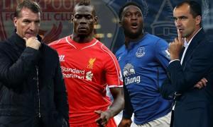 Everton's Belgian striker Romelu Lukaku