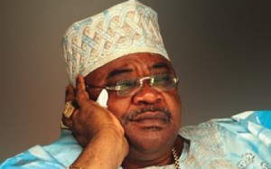 Former Oyo state governor, Chief Alao Akala