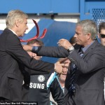 Wenger's Mourinho Nightmare Continues, As Chelsea Manager Downplays Touchline Bust-up