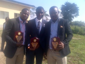 (L-R) Kayode Adelowokan, Oyewale Oyelola and Femi Salawu
