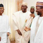 Nigeria's President Goodluck Jonathan Visits Former President Ibrahim Babangida In Minna On Saturday December 27, 2014