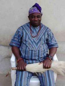 United States based Journalist, and the new Odopetu of Ayede-Ogbese, Mr. Oladimeji Abitogun