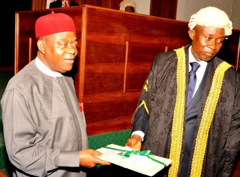 Governor Orji Budgets N102.4 Billion For 2015 Fiscal Year