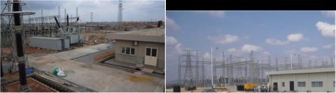 Figure 5 - Oke Aro 600MVA Substation Figure 6 - Gwagwalada 300MVA Substation