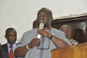 Peoples Democratic Party (PDP) in Abia State, Dr. Okezie Ikpeazu