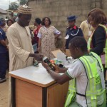 Accreditation of Voters Underway Peacefully In Lagos As Jonathan Calls For Patience