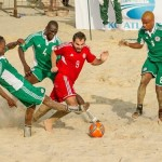 Nigeria In The Lead Of African Beach Soccer Championship