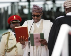 President Buhari Takes Oath Of Office