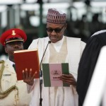 Photo News: Buhari Takes Oath Office  As Nigeria's President